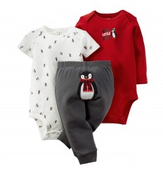 Set 3 piezas - Bodies y Pantalon